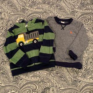 ❄️ Carter's Hoodie and Sweatshirt - bundle of 2!